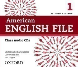American English File 2nd Edition 1 Class CDs