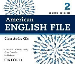 American English File 2nd Edition 2 Class CDs
