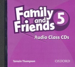 Family and Friends 5 Class CD