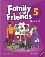 Family and Friends 5 Class Book + MultiROM