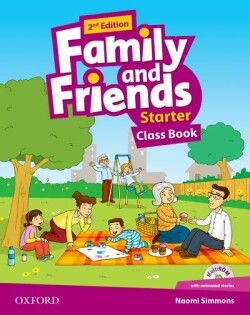 Family and Friends 2nd Edition Starter Course Book + MultiROM