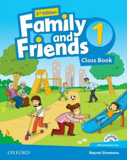 Family and Friends 2nd Edition 1 Course Book + MultiROM