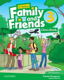 Family and Friends 2nd Edition 3 Course Book + MultiROM