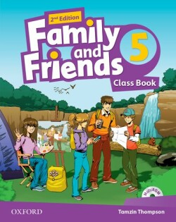 Family and Friends 2nd Edition 5 Course Book + MultiROM