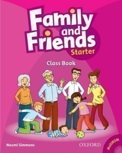 Family and Friends Starter Course Book + MultiROM