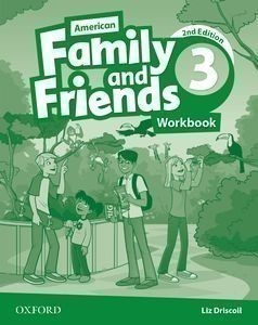 American Family and Friends, 2nd Edition 3 Workbook