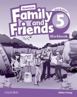 American Family and Friends, 2nd Edition 5 Workbook