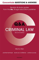 Concentrate Q&A Criminal Law Law Revision and Study Guide
