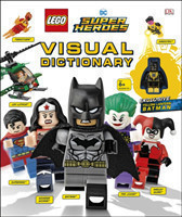LEGO DC Super Heroes Visual Dictionary With Exclusive Yellow Lantern Batman Minifigure
