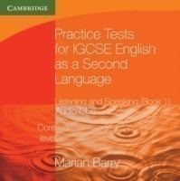 Practice Tests for IGCSE English as a Second Language: Listening and Speaking, Core Level Book 1 Audio CDs (2)