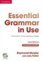Essential Grammar in Use with Answers with CD-ROM Italian Edition Grammatica di Base della Lingua Inglese