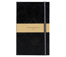 A5 Slim Hardbound Journal Paseo Black