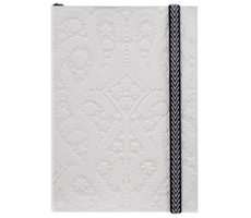 A5 Paseo Embossed Notebook Pastis
