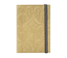 B5 Paseo Embossed Notebook Gold