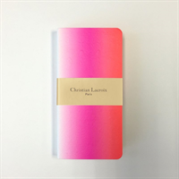 Sticky Note Folio Ombre Paseo Neon Pink