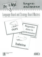 Acti-Vie-Tes 1 Logos-animaux (animals) Language Board Masters
