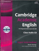 Cambridge Academic English B2 Upper Intermediate Class Audio CD and DVD Pack An Integrated Skills Course for EAP