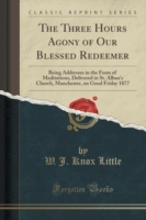 The Three Hours Agony of Our Blessed Redeemer Being Addresses in the Form of Meditations, Delivered in St. Alban's Church, Manchester, on Good Friday 1877 (Classic Reprint)