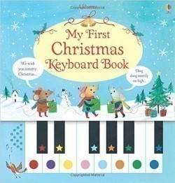My First Christmas Keyboard book, w. sound panel