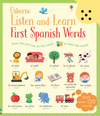 Listen and Learn First Words in Spanish