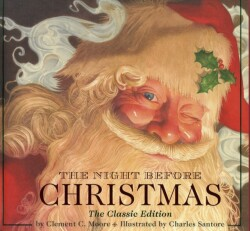 Night Before Christmas hardcover: The Classic Edition, The New York Times bestseller