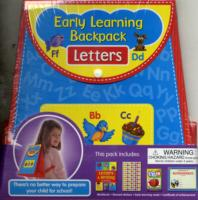 Early Learning Backpack - Letters
