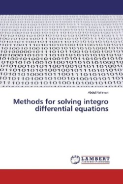 Methods for solving integro differential equations