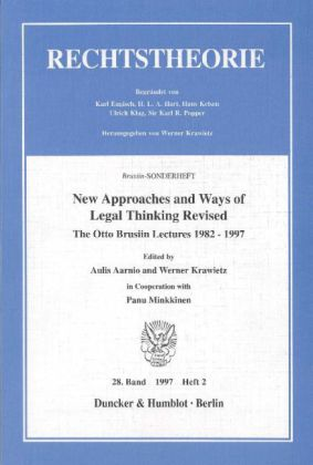 New Approaches and Ways of Legal Thinking Revised.