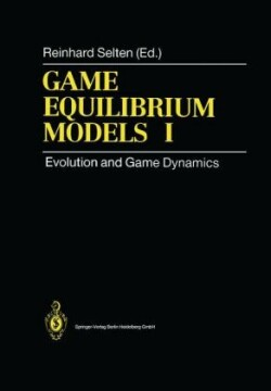 Game Equilibrium Models I Evolution and Game Dynamics