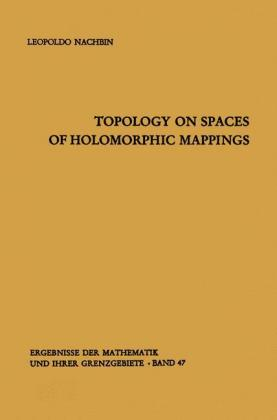 Topology on Spaces of Holomorphic Mappings