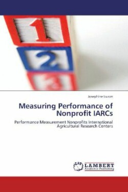 Measuring Performance of Nonprofit IARCs