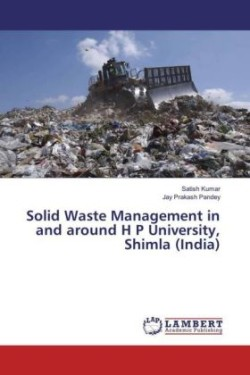 Solid Waste Management in and around H P University, Shimla (India)