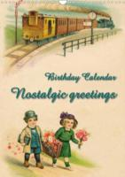 Nostalgic greetings (Wall Calendar perpetual DIN A3 Portrait)