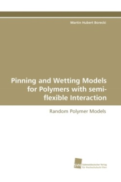 Pinning and Wetting Models for Polymers with Semi-Flexible Interaction
