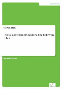 Digital control methods for a line following robot