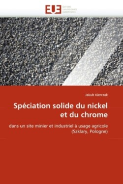 Sp ciation Solide Du Nickel Et Du Chrome