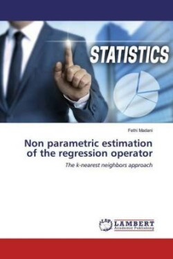 Non parametric estimation of the regression operator