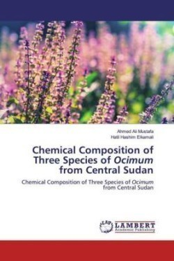 Chemical Composition of Three Species of Ocimum from Central Sudan