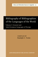 Bibliography of Bibliographies of the Languages of the World
