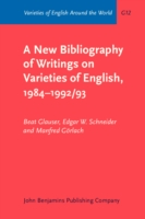 New Bibliography of Writings on Varieties of English, 1984-1992/93