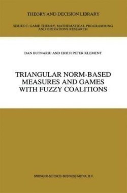 Triangular Norm-Based Measures and Games with Fuzzy Coalitions