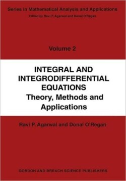 Integral and Integrodifferential Equations