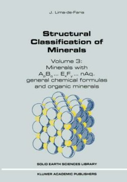 Structural Classification of Minerals Volume 3: Minerals with ApBq...ExFy...nAq. General Chemical Formulas and Organic Minerals