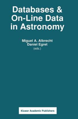 Databases & On-line Data in Astronomy