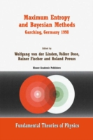 Maximum Entropy and Bayesian Methods Garching, Germany 1998