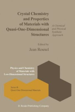 Crystal Chemistry and Properties of Materials with Quasi-One-Dimensional Structures