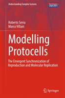 Modelling Protocells The Emergent Synchronization of Reproduction and Molecular Replication