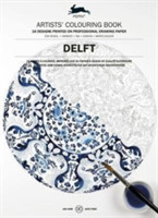 Delft Blue Artists' Colouring Book