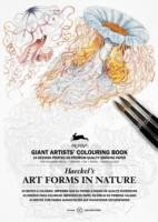 Art Forms in Nature Giant Artists' Colouring Book