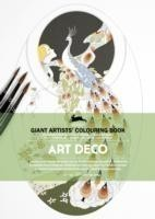 Art Deco Giant Artists' Colouring Book
